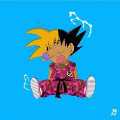 "Stream [FREE] Lil Skies x Lil Uzi Vert x Juice Wrld Type Beat I ""Stella"" (Prod. Bollini) by Bollini from desktop or your mobile device Dbz, Cartoon Wallpaper, 3d Wallpaper, Marvel Wallpaper, Manga Anime, Anime Art, Manga Dragon, Kid Goku, Dope Cartoons"