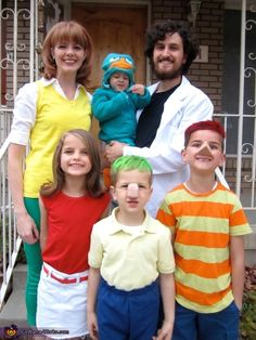 phineas ferb family costume - Phineas Halloween Costume