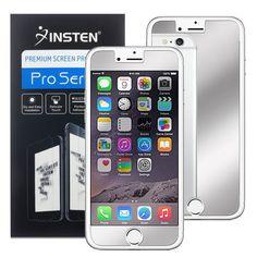 Insten Premium Mirror Screen Protector for Apple iPhone 6 6s 7 Plus 7 Protective Guard Film //Price: $6.49//     #onlineshop