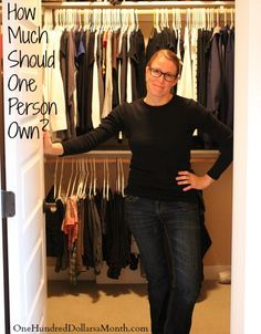 Minimalizing Clothing: How Much Should One Person Own? (I need to read this. Badly.)