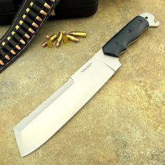 Austin's Custom handmade D2 Tool Steel Knife Machete Survival SPEC OPS Tactical