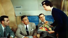 Now that is a fruit platter! Suited passengers are offered a selection of fresh produce wh...