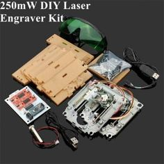 Only US$82.99 , buy best 200-250mW DIY Red Laser Engraving Machine Kit CNC Laser Printer sale online store at wholesale price.UK/USA direct.