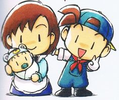 Jack and Elli, Harvest Moon Friends of Mineral Town