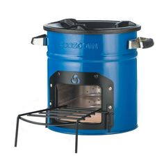 EcoZoom's Dura rocket stove burns wood and other dry solid biomass. The Dura is great for camping or off-grid cooking and has proven its durability in devel