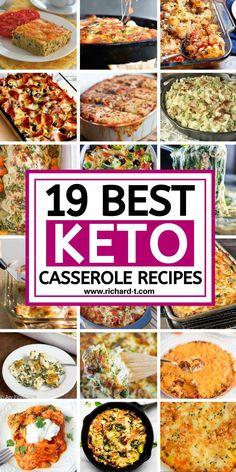 19 Easy Keto Casserole Recipes You Wish You Made - Dessert Now Dinner Later Low Carb Keto, Low Carb Recipes, Diet Recipes, Cooking Recipes, Healthy Recipes, Whole30 Recipes, Recipes Dinner, Easy Recipes, Recipies