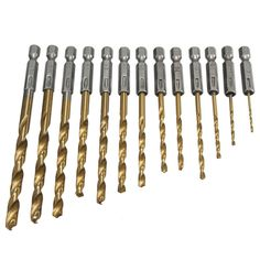 >>>Smart Deals for13pcsset HSS High Speed Steel Twist Drill Bit for Metal Titanium Coated Drill 14 Hex Shank 1.5- 6.5mm Power Tools Accessories13pcsset HSS High Speed Steel Twist Drill Bit for Metal Titanium Coated Drill 14 Hex Shank 1.5- 6.5mm Power Tools AccessoriesAre you looking for...Cleck Hot Deals >>> http://id506931428.cloudns.ditchyourip.com/32605323286.html images