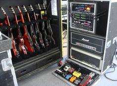 Slash's live gear for Solo Tour 2010-2012