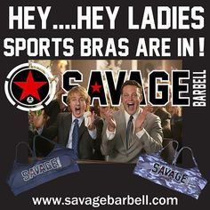 """""""HEY SAVAGE BABES!  Sport Bras are in!  FREE SHIPPING TILL SUNDAY!! USA only you crazy Aussies!  Use code : hookmeup at check out.  #savagebarbell #savagebabe #sportsbra #crossfit #chickswholift #gym #fitchick #womenofcrossfit #fitgirls  #girlswholift #girlswholiftheavy #fitness #fitspo"""" Photo taken by @savage_barbell on Instagram, pinned via the InstaPin iOS App! http://www.instapinapp.com (11/02/2015)"""