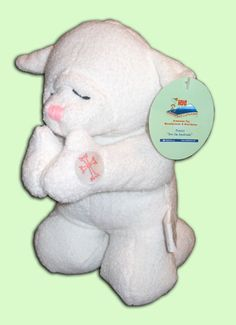 You can find praying plush animals like this on www.ArmenianVendor.com