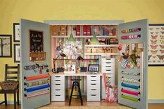 Closet office: armá una oficina en el placard de tu casa - Revista OHLALÁ! - Revista Ohlalá!