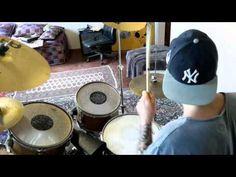 Funky/rock drum solo. - YouTube