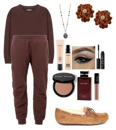 """Colored outfit"" by parnikajain ❤ liked on Polyvore featuring adidas Originals, UGG Australia, Gogo Philip, MAC Cosmetics, NARS Cosmetics, Bobbi Brown Cosmetics and Dolce & Gabbana Fragrance"