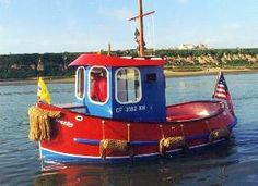I want one of these really, really bad!!!  Candu E-Z, Mini Tugboat Plans, Tugboats