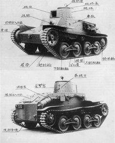 Japanese Type 95 Ha-Go first prototype, 1934