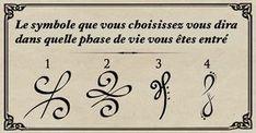 Le symbole que vous choisissez vous dira dans quelle phase de vie vous êtes entré