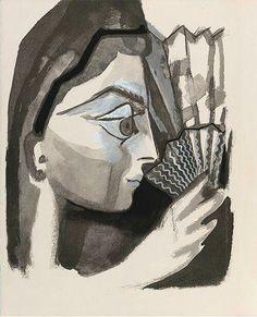 """Pablo Picasso """"Le Carmen des Carmen"""" 1949"""