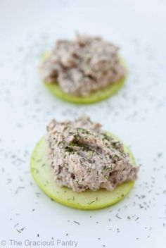 Salmon/Pecan spread for Apples - Eat Clean! - Many snack ideas on this site