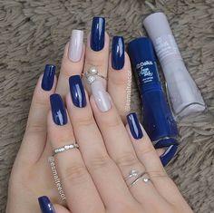 Semi-permanent varnish, false nails, patches: which manicure to choose? - My Nails Perfect Nails, Gorgeous Nails, Stylish Nails, Trendy Nails, Dodger Nails, Nailart, Nagellack Design, Manicure E Pedicure, Pedicure Ideas