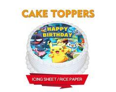 Primeros Pokemon ir cumpleaños Pokemon Pokemon por CakersWorld