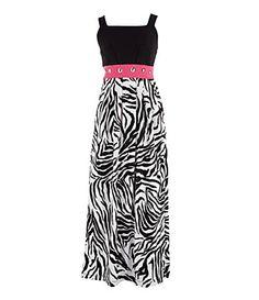 Zebra Grad Dresses 89