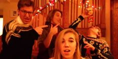 "The Bock family doesn't just mail their Christmas card. Instead, they perform it on YouTube -- and this year, they're capitalizing on Miley fever with a catchy cover of ""We Can't Stop."""