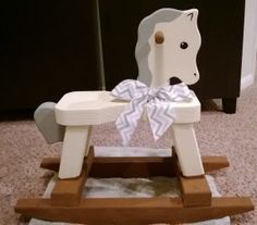 17 Best Rocking Horse Makeovers Images In 2015 Wooden Horse