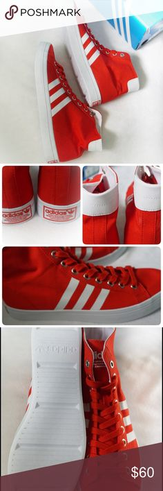🆕LISTING ADIDAS COURTVANTAGE MID SIZE 11MEN -BRAND NEW IN BOX  -COLOR:WHITE/RED -SIZE: 11MEN -MADE IN MYANMAR -INCLUDE ORIGINAL BOX WHEN SHIP       ⚠️⚠️⚠️PLEASE UNDERSTAND SOMETIME THE BOX POSSIBLY DAMAGED. IF YOU CONCERNED ABOUT THE BOX PLEASE ASK FIRST BEFORE PURCHASE. PLEASE PAY ATTENTION TO DETAILED OF SHOES OF THE PIC. THANKS ⚠️⚠️⚠️⚠️⚠️       ⭐️TOP RATED SELLER 👍FAST SHIPPER NEXT DAY SHIPPING ❌NO TRADE ❌NO PAYPAL ✅BUNDLE OFFER Adidas Shoes Sneakers