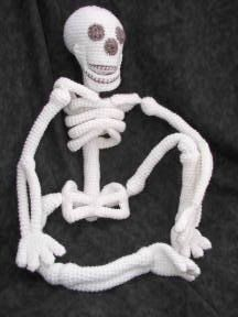 skeleton by Yarn or Fabric