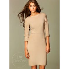 Sukienka Ripple Strand Beige Dress