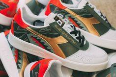 SBTG x GINNIKA x DIADORA B.ELITE (SAWTOOTH) Sneaker Dress Shoes, Loafer Shoes, Loafers, Diadora Sneakers, Girls Time, Elite Socks, Adidas Originals, Footwear, Pairs
