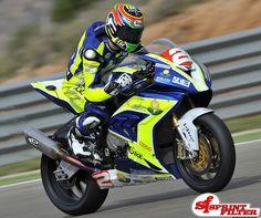 Roberto Tamburini - BMW S1000RR by MotoXRacingTeam - winner of the first Round in Aragon (Spain)  http://www.sprintfilter.net/en/bike/products/bmw/s-1000rr