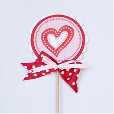 Lollipop Decoration - Valentine's Day