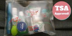 My TSA-Approved Liquids Bag