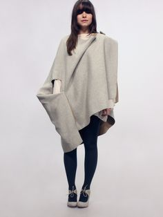 Isabel Wong Gravitas Cape | NOT JUST A LABEL