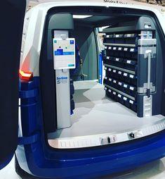 Van Organization, Van Shelving, Vehicle Storage, Stool, Vans, Kitchen Appliances, Shopping, Home, Ideas