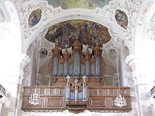 St. Mauritius (Ebersmunster) – Silbermann-Orgel: In der Kirche befindet sich ebenfalls eine 1730–1732 von Andreas Silbermann gebaute Orgel, die zu den am besten erhaltenen Werken des berühmten Orgelbauers gehört.  Wikipedia