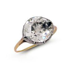 Rare 18th century diamond ring #wedding