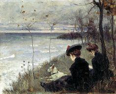 НИЛУС Пётр - Осень. 900 Картин самых известных русских художников