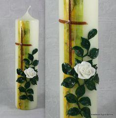 Hochzeitskerze Geburtstagskerze von Kreatiwita - Kerzen - Kunst auf DaWanda.com