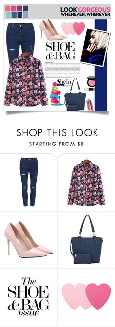 """Shein (12)"" by aida-banjic ❤ liked on Polyvore featuring Sephora Collection, Bobbi Brown Cosmetics, 2true Cosmetics, women's clothing, women's fashion, women, female, woman, misses and juniors"