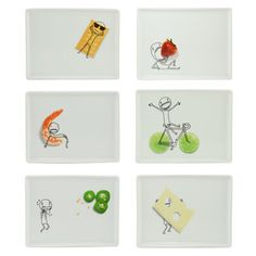 Party Plates Set Of 6 now featured on Fab.