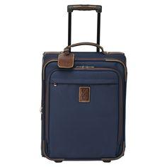 Valise à roulettes Boxford - Bagages - taille cabine - Longchamp - Bleu - longchamp.com - 190€
