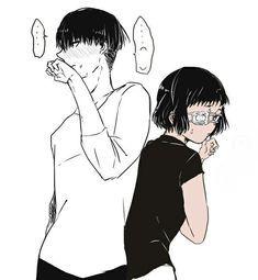 Image result for Mutsuki, Tooru and Urie, Kuki