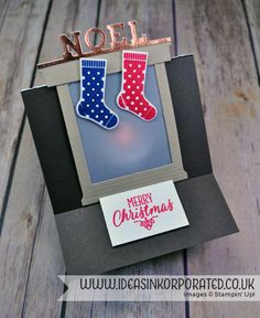 Hang your Stocking from Stampin' Up! for our Pinkies Blog Hop