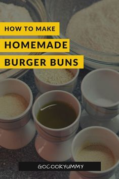 Easy and Delicious Homemade Burger Buns - A simple homemade burger brioche buns. - Easy and Delicious Homemade Burger Buns – A simple homemade burger brioche buns that are incredi - Healthy Burger Recipes, Fast Healthy Meals, Vegetarian Recipes Easy, Best Homemade Burgers, Best Homemade Bread Recipe, Delicious Burgers, Delicious Sandwiches, Best Brunch Recipes, Recipe Creator
