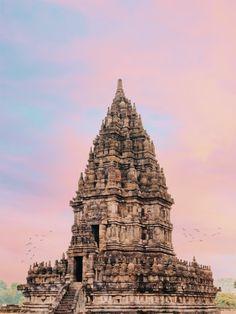 Temple Bali, Indian Temple, Places Around The World, Around The Worlds, Gili Island, Borobudur, Yogyakarta, Borneo, Beautiful Places To Visit