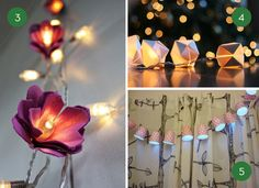 10 Ways To Transform A Regular Set of String Lights