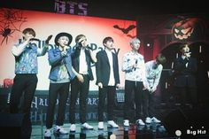 *Pin by PierceTheSuga*  [STARCAST] Welcome to BTS 'Halloween Party'. [151102]