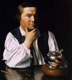 """Paul Revere gathered intelligence information by """"watching the movements of British Soldiers"""".  He spread the word of the Boston Tea Party to New York and Philadelphia."""